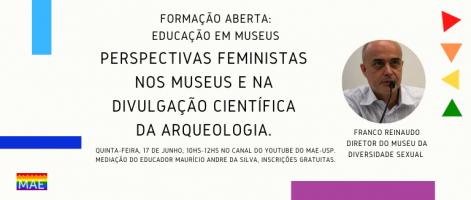 Museu da Diversidade Sexual. Pagina do MAE