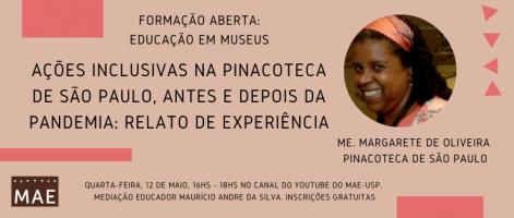 Pinacoteca Pagina do MAE