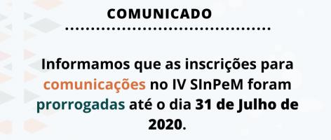 ppgmus, comunicado