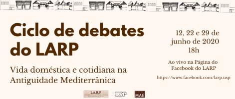 Ciclo de debates do LARP - site MAE